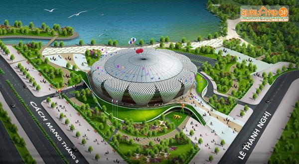 Đà Nẵng thu hồi đất của Liên đoàn xiếc VN xây Trung tâm Hành chính quận Hải Châu