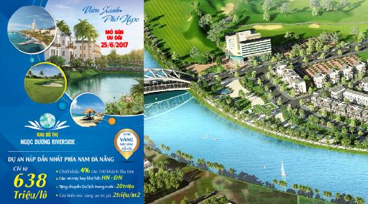 Ra mắt dự án Ngọc Dương Riverside - The Gardens tại khu Nam Đà Nẵng