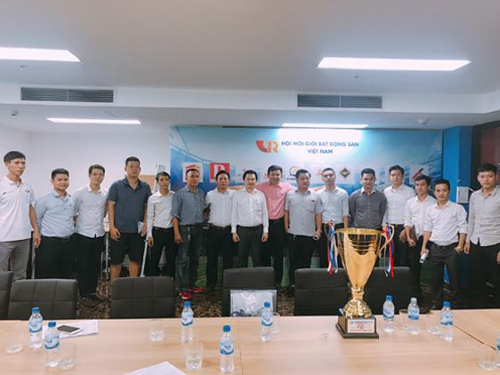 Hoàng Gia Phát tranh tài giải bóng đá VARS CUP 2019