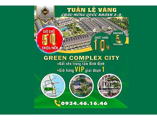 """""""Tuần lễ vàng"""" khi mua dự án Green Complex City"""