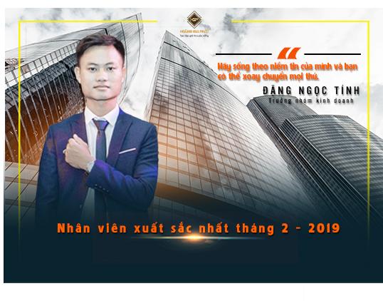Nhân viên xuất sắc nhất tháng 2 năm 2019
