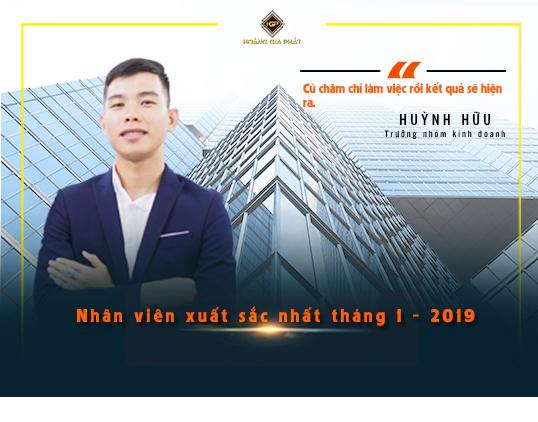 Nhân viên xuất sắc nhất tháng 1 năm 2019